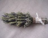 Dried lavender wheat gip  wedding bouquet , Shabby chic bouquet , Dried flower bouquet ,Country romantic style barn decor