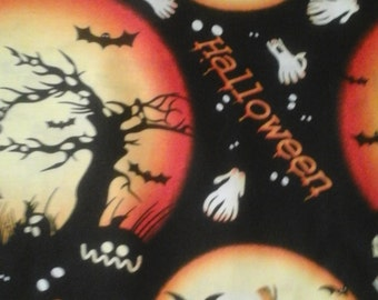 Halloween scrub top, any size