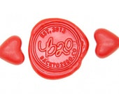 Red Heart Shape Sealing Wax Beads for Wax Seal Stamp