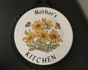 Vintage Mothers Trivet 1970,s