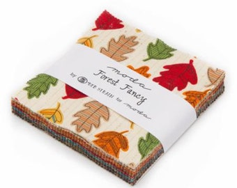 Forest Fancy Charm Pack by Deb Strain for Moda