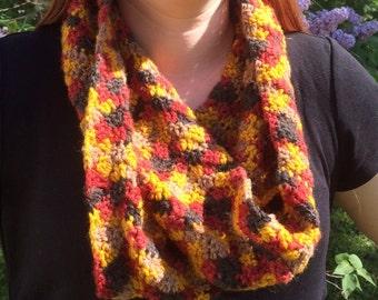 Crochet Infinity Scarf Cowl
