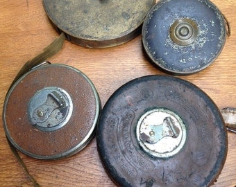Vintage Lufkin Tape Measures,Industrial,Collection
