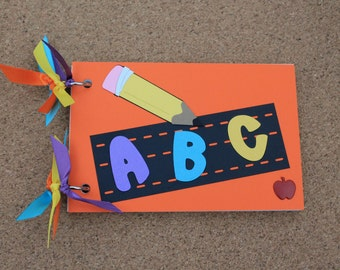 ASBeautiful - ABC Book - Alphabet Book - Letter Book