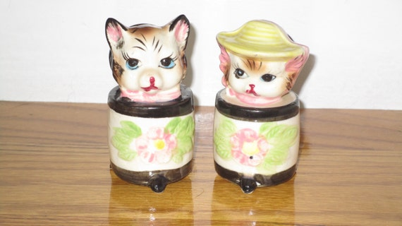 Cats in boxes salt and pepper shakers epsteam