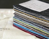 Complete Hand Waxed Fabric Collection Swatch Kit - Linen, Denim, Canvas