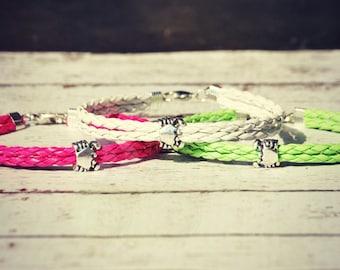 feelin' crabby bracelet ~ bracelet, crab jewelry, ocean jewelry, preppy, nautical jewelry, crab charm, crab bracelet, beach jewelry