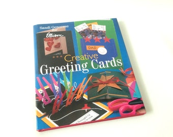 Creative Greeting Cards, Creative Cards Book, Design Greeting Card, How-to Make Cards, Card Making,  Design book, Scrap booking