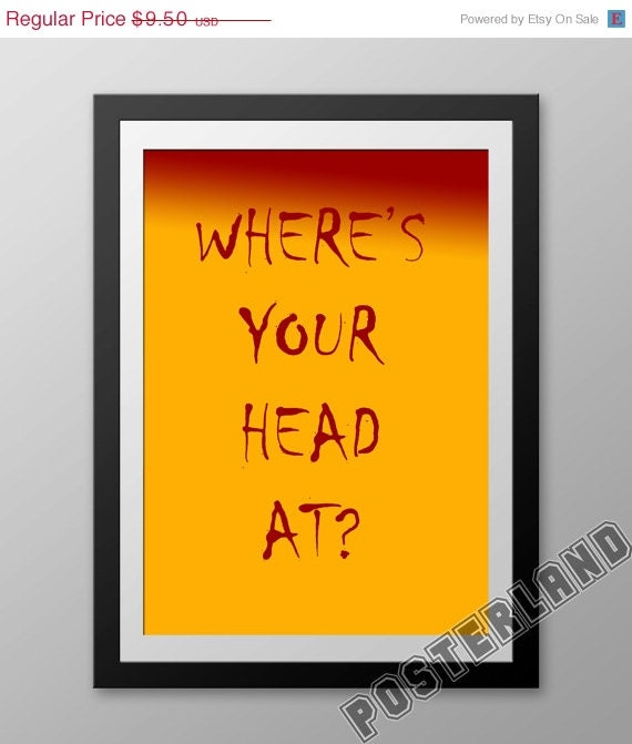 sale poster where 39 s your head at basement jaxx music post
