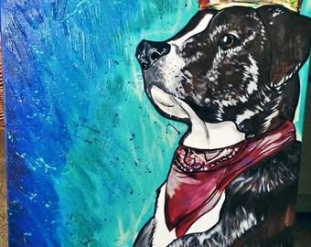 Custom Acrylic Pet Painting