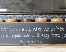 winnie the pooh quote, wooden sign, wood sign,wooden quote sign, rustic wood sign, custom wood sign, wooden sign custom,wooden sign quote