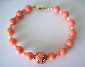 Real  coral  bracelet