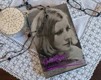 Vintage book: 'Garbo - a biography' by Norman Zierold, a biography of Swedish movie actress Greta Garbo