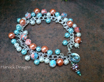 Personalized Initial Charm Bracelet