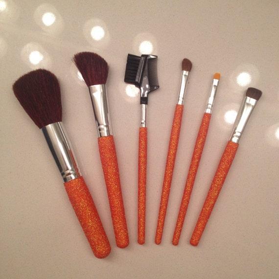 Items similar to READYTOSHIP- ORANGE - Glitter Makeup ...