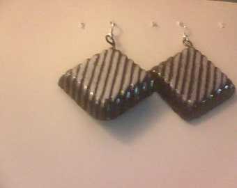 Earrings-Chocolate Bon Bons