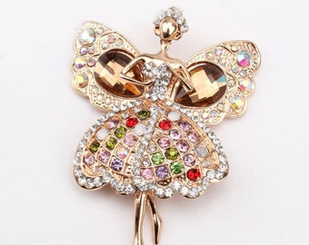 1 Piece Angel Alloy Rhinestones Bling Bling Cell Phone Case Decoaccessory Piece for your craft projects