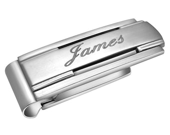 Free Engraving - Quality Stainless Steel Money clip