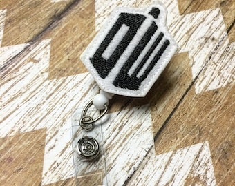 Dr. Who Badge Reel