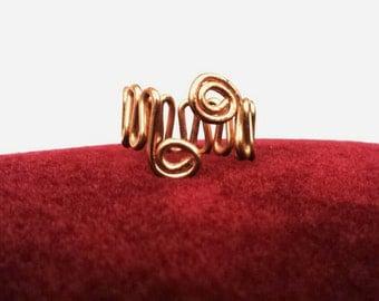 Layered Wavy Ring