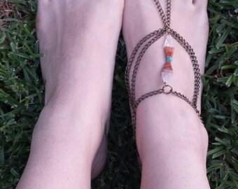 Custom Soulful Oceans Ankle Chain