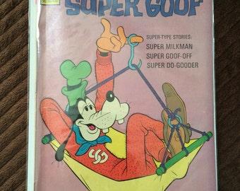 Walt disney super goof comics No. 39 September 1976 USA