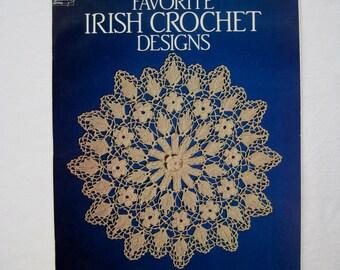 Irish Crochet Designs Booklet Rita Weiss Crochet Instructions Reference Dover Needlework Series