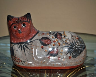 Medium TONALA CAT Mexican Folk Art
