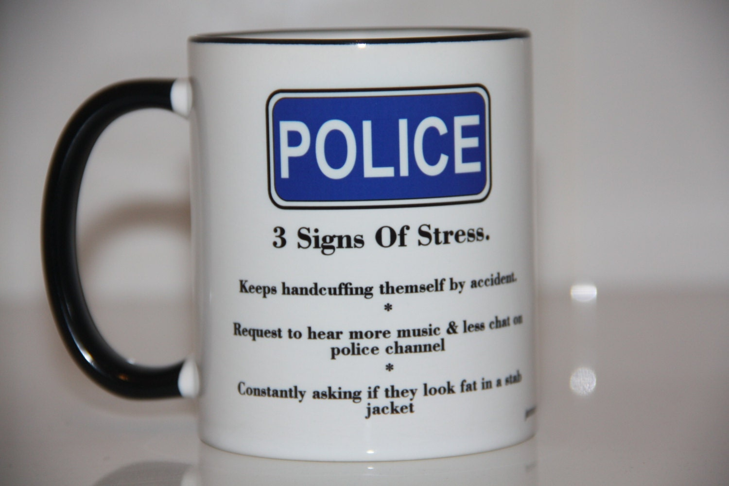 stress on police The police car stress ball is great for municipal & police based promotions these squeezable police car shaped stress relievers are custom printed with your logo and/or text making them ideal for your next marketing or internal event.