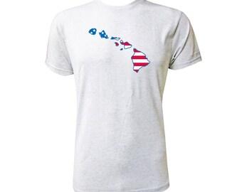 Hawaii American Flag - NLA Heather White