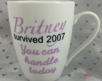 Britney Survived Mug