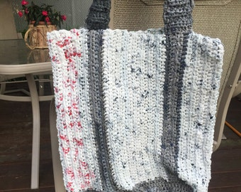 Crochet Plarn Beach Bag