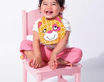 Ellie Mae designs K131, Bibs Sewing Pattern, New uncut Sewing Pattern