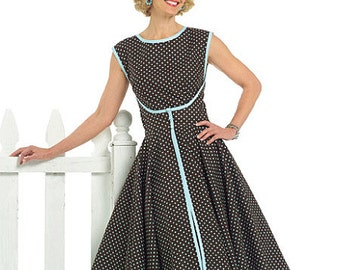 Butterick 4790, Misses Dress Sewing patten, Misses Wrap Dress Very Easy Sewing pattern, size 8-10-12-14