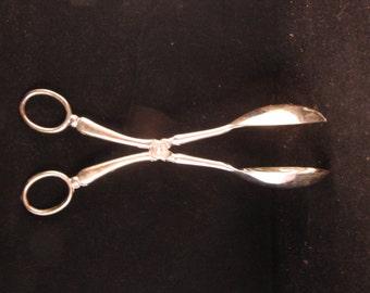 Metal serving spoon