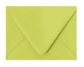 A2 Chartreuse Envelope- pack of 10