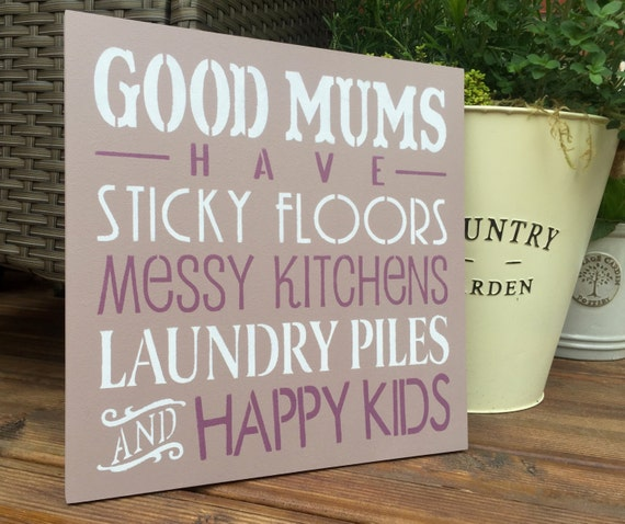 Messy Kitchen Floor: Items Similar To Good Mums Have Sticky Floors Messy
