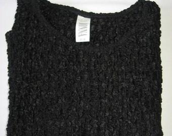 Vintage Dressy Black Top