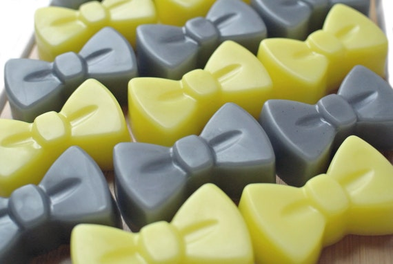 50 Bow Soap Bowtie Soap Bow Tie Soap Party By