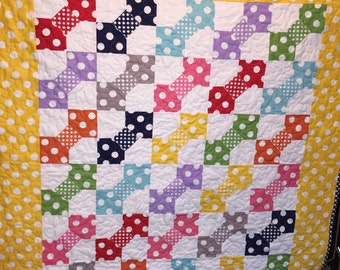 Polka Dot Patch Quilt