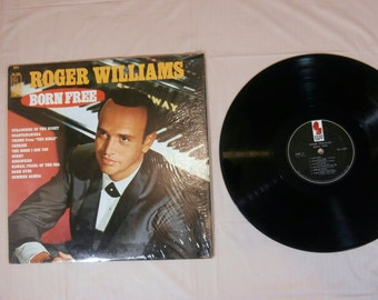 ROGER WILLIAMS - Born Free - Music Record lp Album KL-1501 Tested