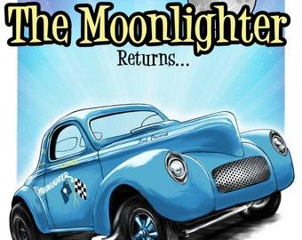 Gene Cromer's The Moonlighter 1941 Willys Gasser