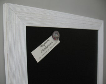 WHITE BARNWOOD Framed CHALKBOARD Magnetic Rustic Large Wedding Sign Kitchen Blackboard Photo Restaurant Menu Barn Wood Chalk Board Markers