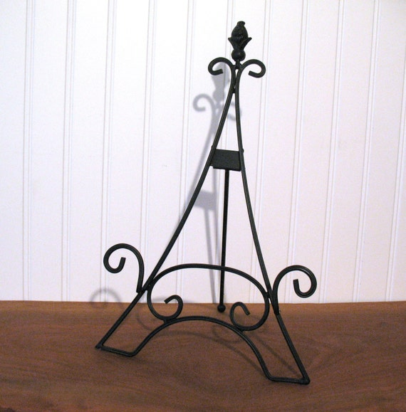 15 Quot Easel Eiffel Tower Large Black Tabletop Wedding