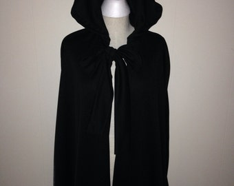 Sith Lord Black Cape Black Cloak Cosplay Comic con Costume