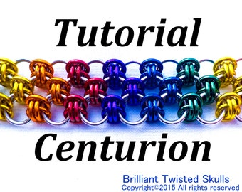 Tutorial for Centurion chain maille weave