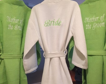 Additional Embroidery Add-On to Back of Robe or Shirt