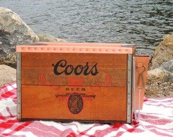Anheuser Busch Custom Copper Cooler