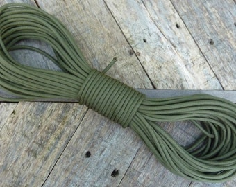 Tactical Paraocrd Military Type III Olive Drab 550,  100 Feet of Nylon