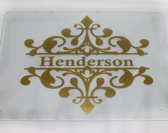 Personalized Cutting Board - Custom - Wedding - Housewarming - Couples - Gift - New Home - Anniversary - Adults - Chef - Cooking - Cookware